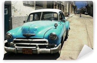 Carta da Parati in Vinile Havana street - cross process