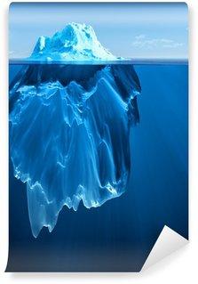 Carta da Parati in Vinile Iceberg
