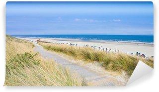 Carta da Parati in Vinile Idyllischer Prendete an der Nordsee im Sommer