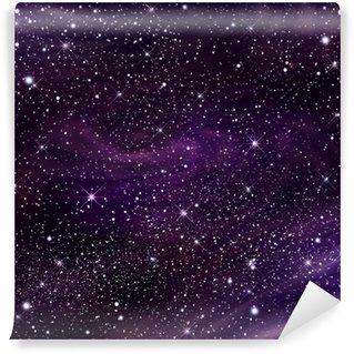 Carta da Parati in Vinile Immagine Spazio galassia, illustrazione