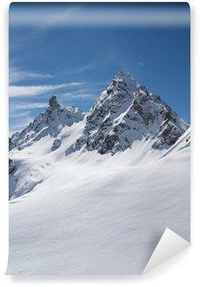 Carta da Parati in Vinile Inverno in der Silvretta