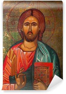 Carta da Parati in Vinile L'icona di Gesù Cristo