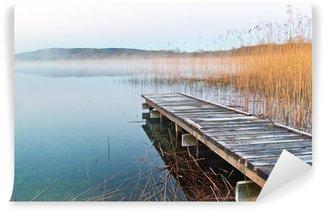 Carta da Parati in Vinile Lago irlandese prima dell'alba
