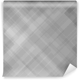 Carta da Parati Lavabile Abstract Pattern Grigio