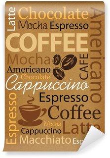 Carta da Parati Lavabile Caffè