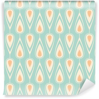 Carta da Parati Lavabile Seamless vintage pattern