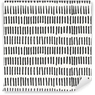 Carta da Parati in Vinile Linee astratte seamless pattern.