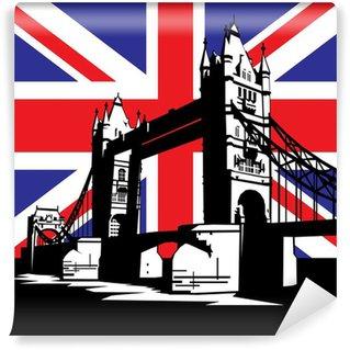 Carta da Parati in Vinile London bridge