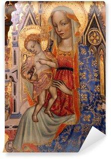 Carta da Parati in Vinile Madonna con Bambino