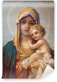 Carta da Parati in Vinile Madonna - Madre di Dio
