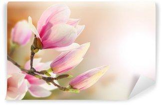 Carta da Parati in Vinile Magnolia