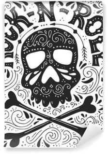 Carta da Parati in Vinile Manifesto Rock-n-roll