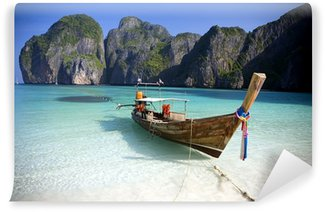 Carta da Parati in Vinile Maya Bay, Koh Phi Phi Ley, Thailandia.