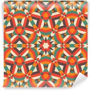 Carta da Parati in Vinile Mosaic Seamless Pattern