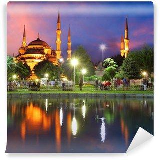 Carta da Parati in Vinile Moschea Blu di Istanbul - Turchia