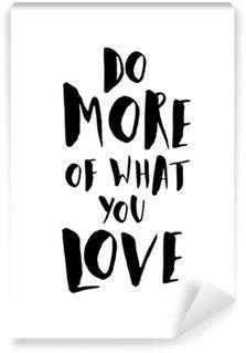 Carta da Parati in Vinile Motivational Poster Citazione