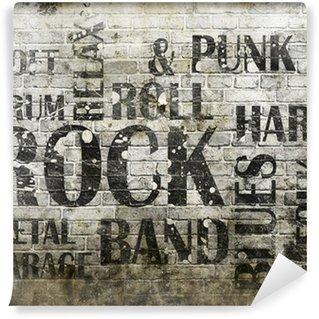 Carta da Parati in Vinile Musica rock grunge manifesto