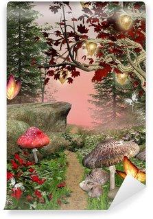 Carta da Parati in Vinile Natura incantata serie - percorso