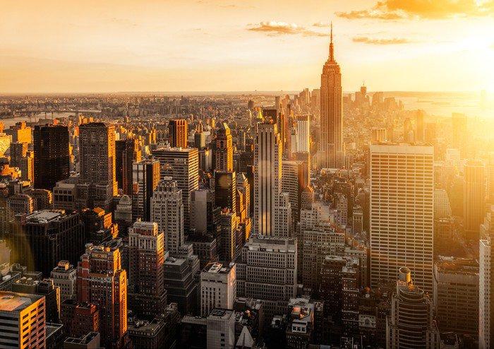 Carta da Parati in Vinile New York -