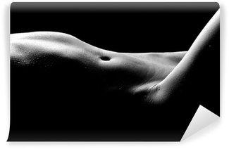 Carta da Parati in Vinile Nude bodyscape immagini di una donna