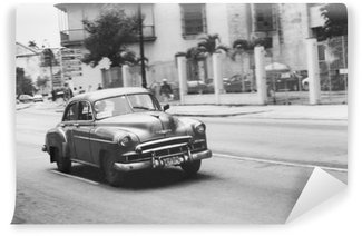 Carta da Parati in Vinile Oldtimer in kuba