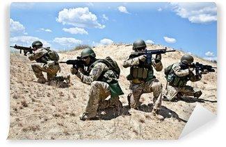 Carta da Parati in Vinile Operazione militare