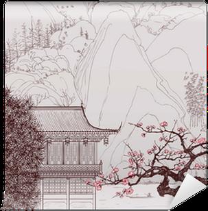 Giappone giapponese per soggiorno pixers it for Carta da parati cinese