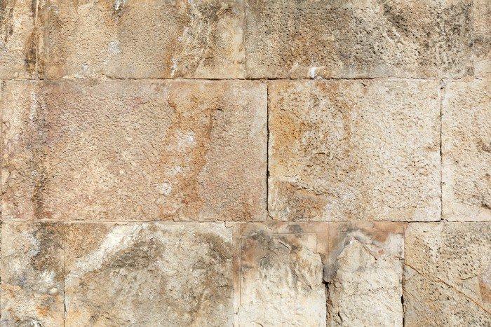 Carta da parati in vinile pietra antica romana muro di for Carta da parati muro