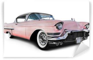 Carta da Parati in Vinile Pink Cadillac