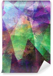 Carta da Parati in Vinile Pittura, grafica astratta