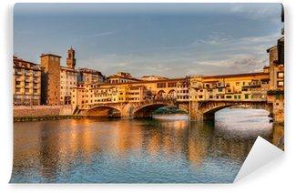 Carta da Parati in Vinile Ponte Vecchio Florence, Italy