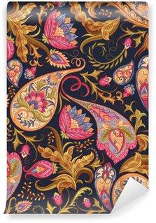 Carta da Parati in Vinile Seamless pattern di cachemire