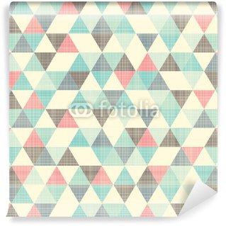 Carta da Parati in Vinile Seamless pattern geometrici