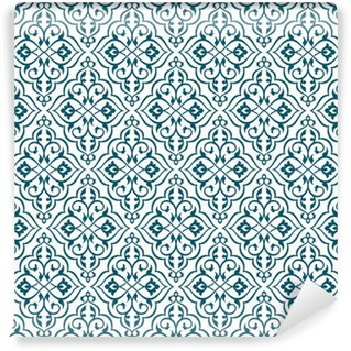 Carta da Parati in Vinile Seamless pattern
