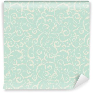 Carta da Parati in Vinile Seamless vintage pattern