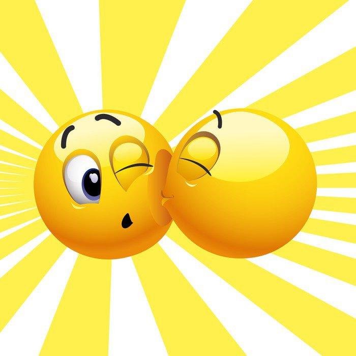 Palio delle contrade ecc. Carte-da-parati-smiling-palla-che-bacia-un-39-altra-palla-sorridente