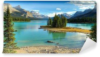 Carta da Parati in Vinile Spirito Isalnd in Maligne Lake