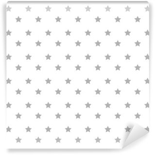 Carta da Parati in Vinile Stelle Design pattern di sfondo illustrazione vettoriale icona