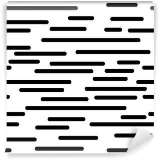 Carta da Parati in Vinile Struttura geometrica con linee morbide