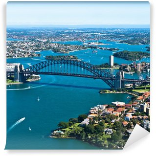 Carta da Parati in Vinile Sydney Harbour Bridge