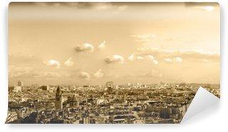 Carta da Parati in Vinile Tetti di Parigi