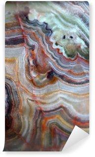 Carta da Parati in Vinile Texture di pietre preziose onice