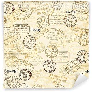 Carta da Parati in Vinile Timbro con pattern
