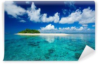 Carta da Parati in Vinile Tropicale isola paradiso per le vacanze