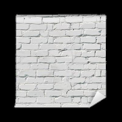 Carta da parati un muro di mattoni bianchi pixers for Carta da parati muro mattoni