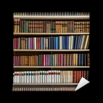 Carta da parati vecchi libri pixers viviamo per il for Carta da parati libri