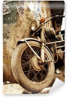 Carta da Parati in Vinile Vecchia bici.