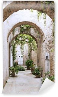 Carta da Parati in Vinile Vecchia galleria al Castello