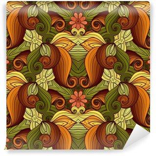 Carta da Parati in Vinile Vector Seamless Motivo ornamentale Ornato