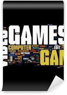 Carta da Parati in Vinile Videogiochi